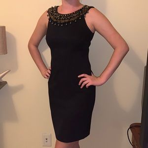 AB Studio Black Cocktail Dress